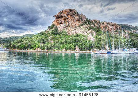 Poltu Quatu Harbor In Hdr