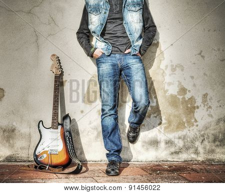 Blue Jeans And Electric Guitar