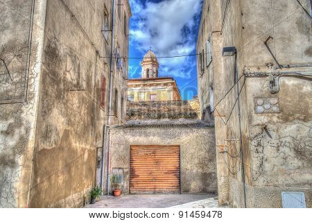 Garage In Sassari Old Town