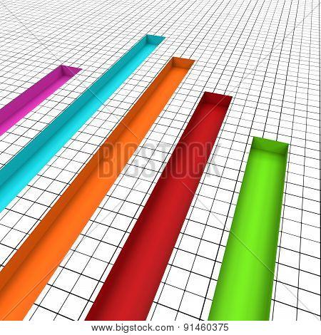 Graph Report Indicates Graphs Profit And Data
