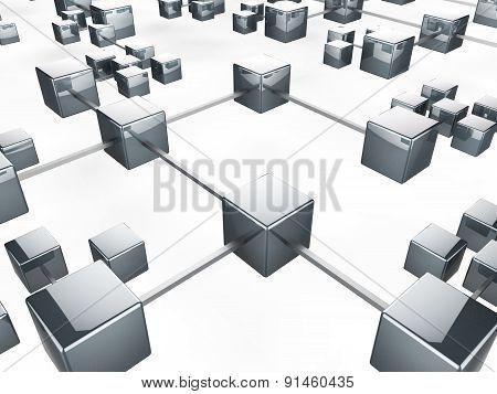 Communication Network Indicates Web Internet And Server