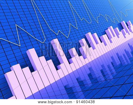 Graph Report Represents Statistic Information And Statistical