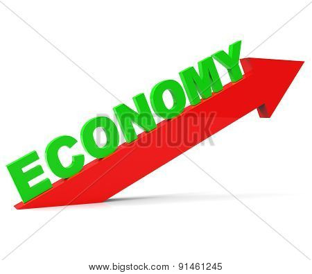 Improve Economy Represents Improvement Plan And Advance