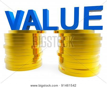 Good Value Represents Prosperity Important And Financial