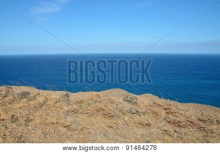 Edge Of A Cliff