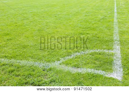 Football field stadium background