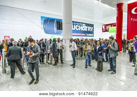 Entrance Of The Photokina - World Of Imaging, Top Event For The Trade And User