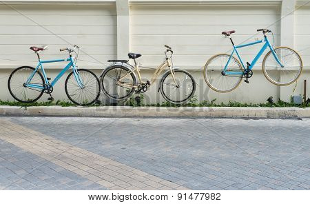 Bicycles On The Wall , Bike Wall Hangings