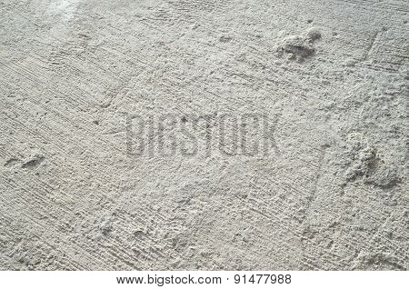 Background Of Concrete With Textured Brushed Finish