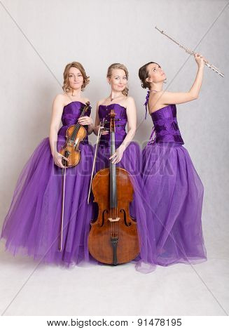 Trio With Instruments
