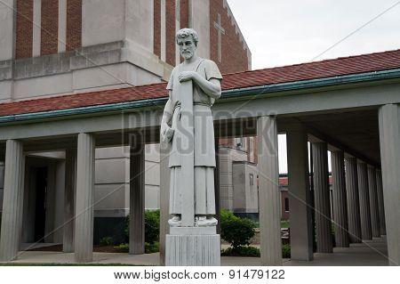 Sculpture of Saint Joseph