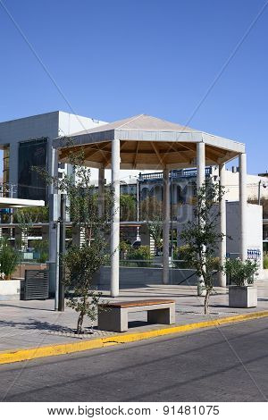 Small Pavillon in Iquique, Chile