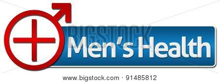 Mens Health With Related Symbol