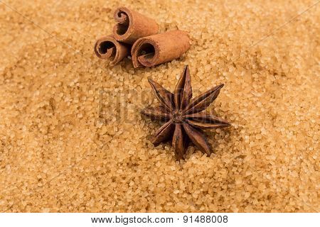 Tropical Brown Sugar, Anise, Cinnamon