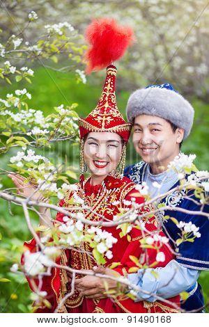 Kazakh Love In Spring