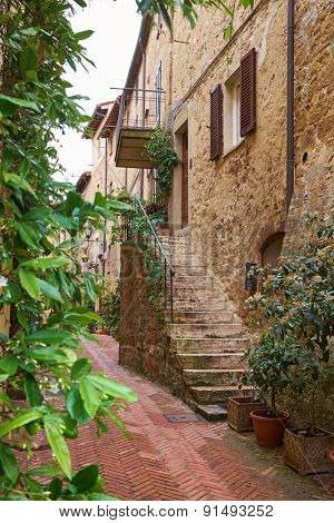 Ancient Alley in Tuscany