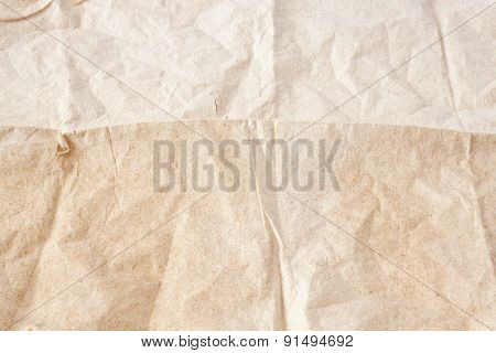 Crumpled Tissue Paper Texture Background