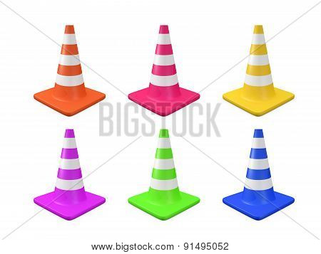 Various Traffic Cones