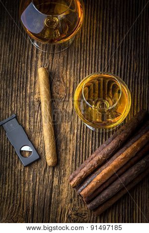 Quality Cigars And Cognac
