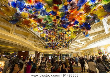 Bellagio Hotel Lobby, Las Vegas, Nevada