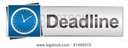 Deadline Blue Grey Button Style