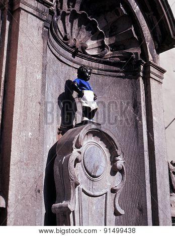 Manneken Pis, Brussels.