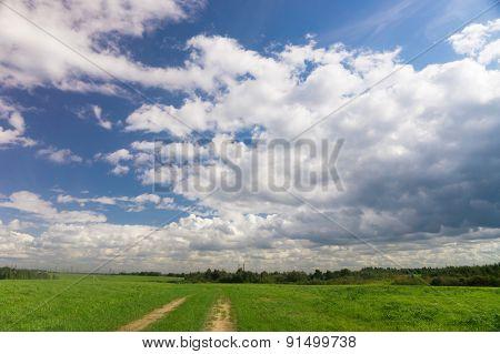 Sky Beauty Spectacular Cloudscape