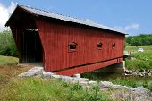 pic of covered bridge  - the Bible covered bridge in Greeneville County - JPG
