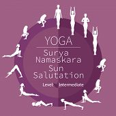 picture of surya  - yoga poses - JPG