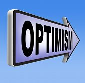 foto of positive thought  - optimism think positive be an optimist by having a positivity attitude that leads to a happy optimistic life and mental health   - JPG
