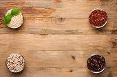 stock photo of quinoa  - White - JPG