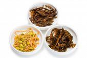 stock photo of korean  - Spicy salads heh of seaweed - JPG