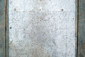 foto of scratch  - Scratched old metal surface background or texture - JPG