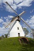 foto of windmills  - The windmill Heimsen  - JPG