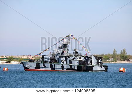 SEVASTOPOL, CRIMEA - MAY 7, 2015: