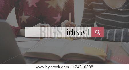 Ideas Inspiration Imagination Creativity Design Concept