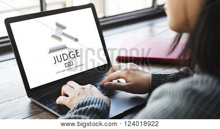 Judge Justice Judegment Legal Fairness Law Gavel Concept