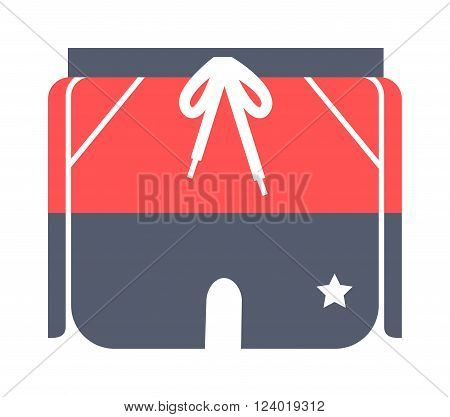 Running pants sport design vector illustration. Pants design in vectors. Pants clothing flat. Running pants fitness clothing. Running pants fashion sport clothing.