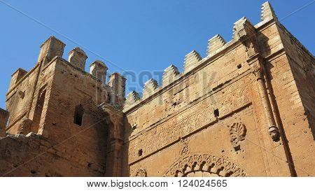 The Hassan Tower (tour hassan) in Rabat Morocco