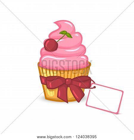 Dessert illustration, sweet vector image, vector design, illustration of food, gift set, sweet dessert, vector food.