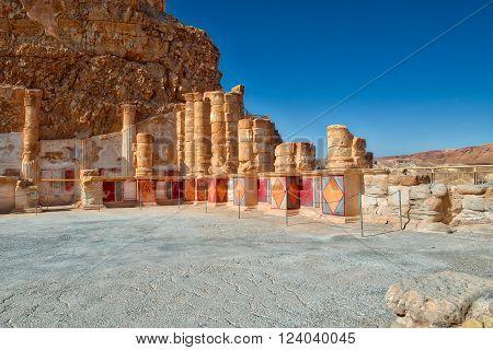 The Palace Of King Herod's Masada