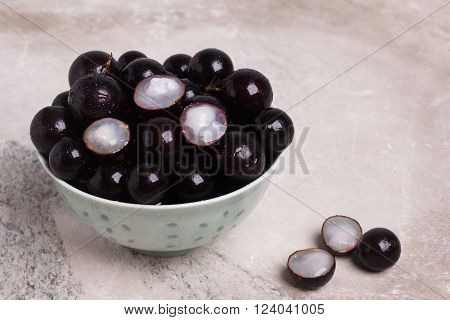 Berry Jaboticaba In Bowl