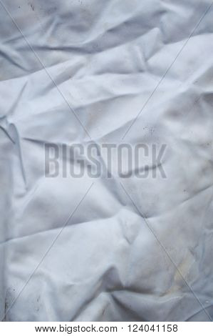 old crease Nylon fabric texture for background