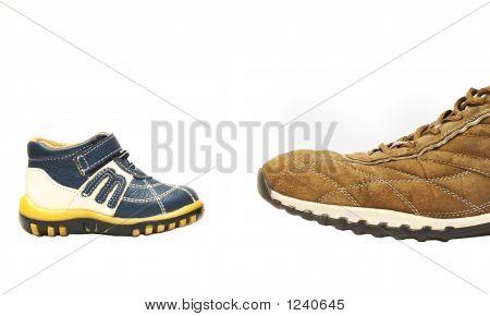 Small Contra Big Shoe