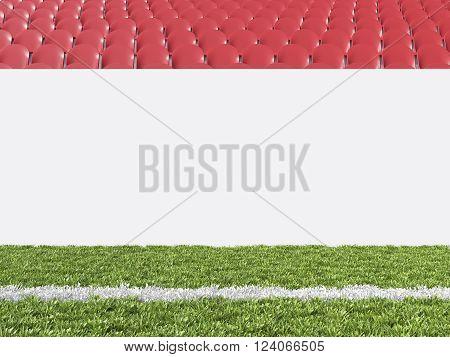 Banner At Stadium