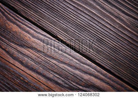 Vintage wooden wall, wooden house, close-up timber, boards for construction, natural building material, ecological construction.
