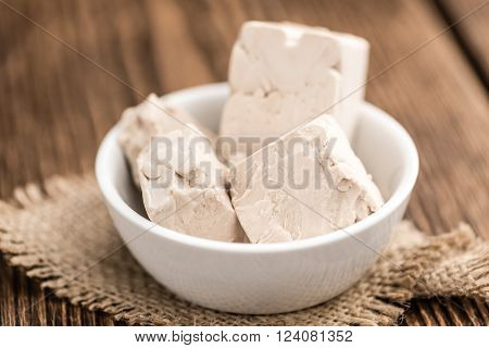 Fresh Yeast (selective Focus)