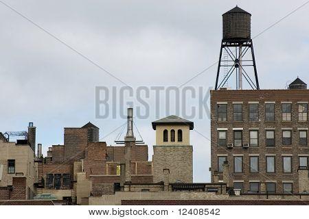NYC midtown skyline