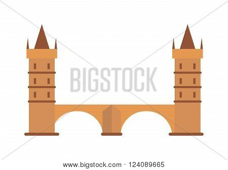 Fantasy knight castle and knights medieval castle. Knight castle old architecture tower and history fortress knight castle. Knight medieval hill town from battlements stone castle vector.