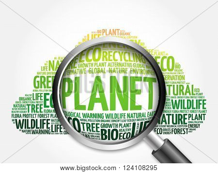 Planet Word Cloud
